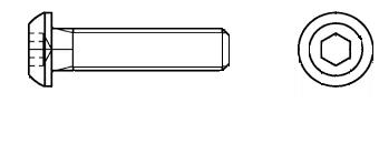 linsenkopfschraubeinnensechskant